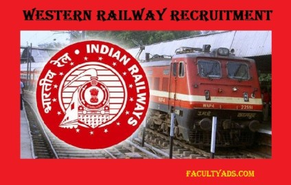 Western Railway Recruitment 2019