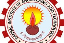Bansal Institute of Engineering and Technology Jobs 2019 - Apply Online for Professor/ Associate Professor/ Assistant Professor Posts