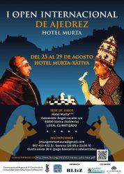 open hotel murta xativa ajedrez