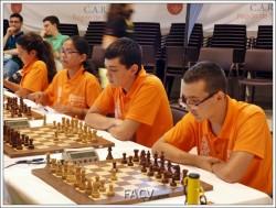 españa sub-14 ajedrez