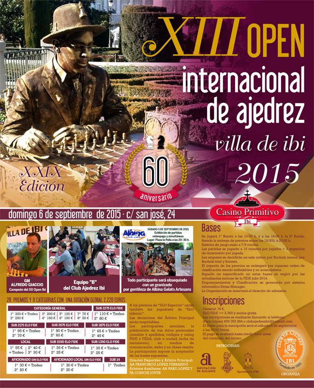 open ibi ajedrez