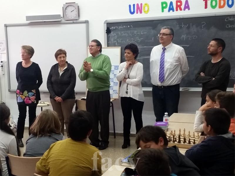 cheste ajedrez colegio educación