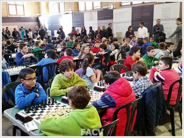 ajedrez campeonato sub comunidad valenciana