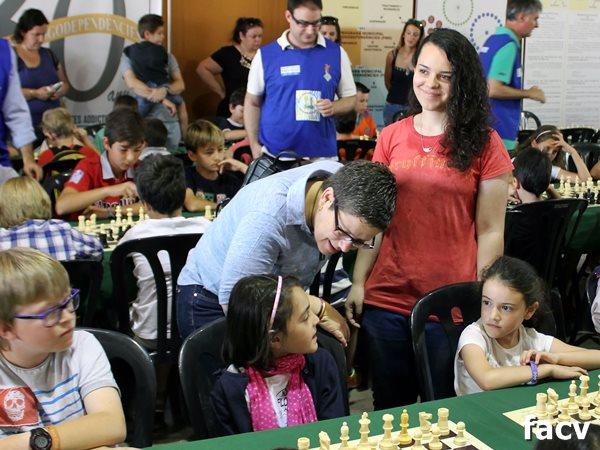 escuela itinerante ajedrez