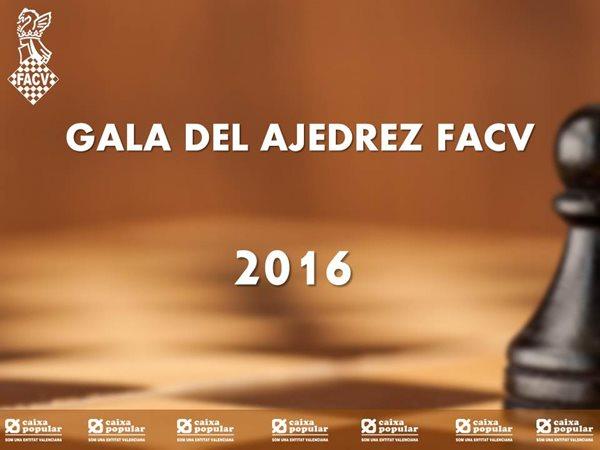 GALA AJEDREZ VALENCIANO 2016