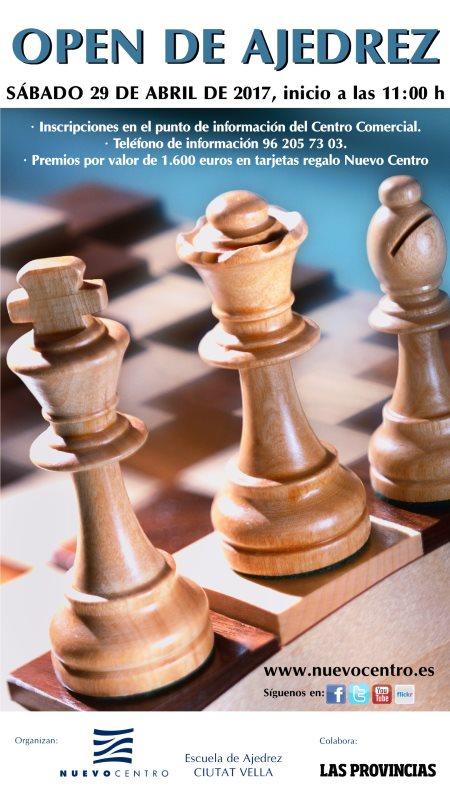 open ajedrez nuevocentro valencia