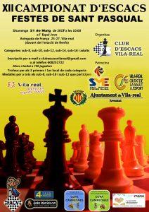 Torneo ajedrez Vila-real Castellon