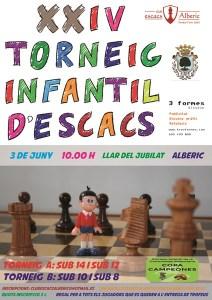 Torneo Ajedrez Infantil Alberic Valencia