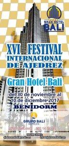 Competición de ajedrez en Benidorm Alicante
