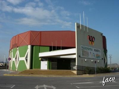 pabellon deportivo Sagunto, Valencia