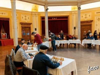 simultanea ajedrez en Alcoy, Alicante
