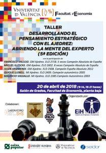 TALLER F. ECONOMÍA @ Facultad Economía Valencia | València | Comunidad Valenciana | España
