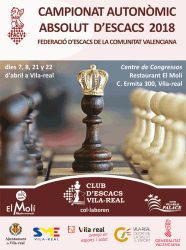 cartel ajedrez Vila-real torneo