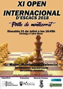 OPEN MONTSERRAT @ Torneig a l'aire lliure | Montserrat | Comunidad Valenciana | España