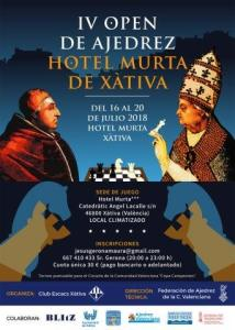 OPEN ESCACS XÀTIVA @ Espai Cultural del Convent Sant Domènec de Xàtiva | Játiva | Comunidad Valenciana | España