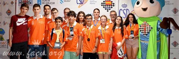 campeones de España de ajedrez