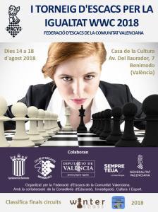 OPEN PER LA IGUALTAT @ Casa de la Cultura Av. Del llaurador, 7 – Benimodo | Carlet | Comunidad Valenciana | España