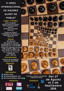 """OPEN QUART DE POBLET @ Centro Cultural """"El Casino""""   Quart de Poblet   Comunidad Valenciana   España"""