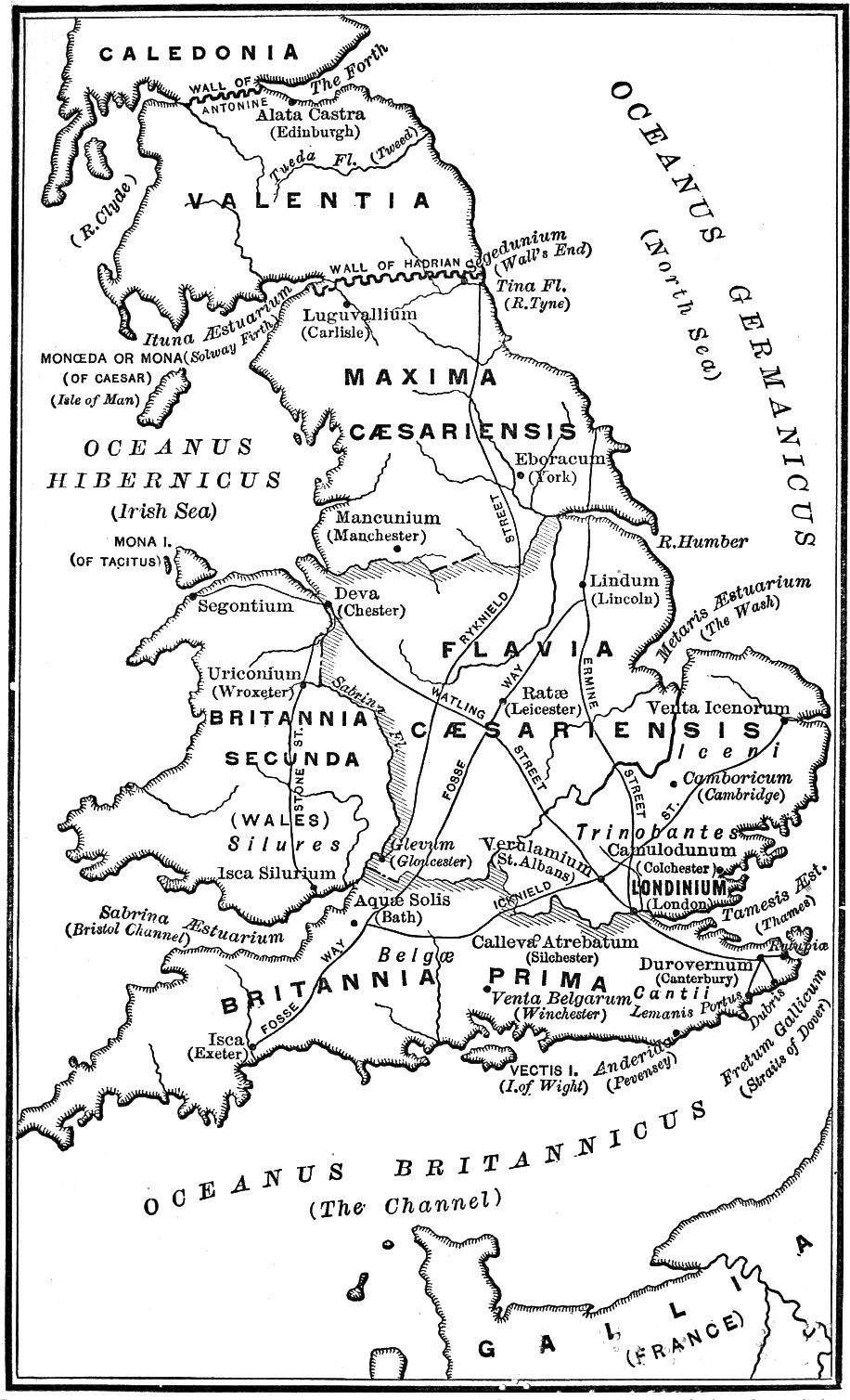 The Leading Facts Of English History, by D. H. Montgomery