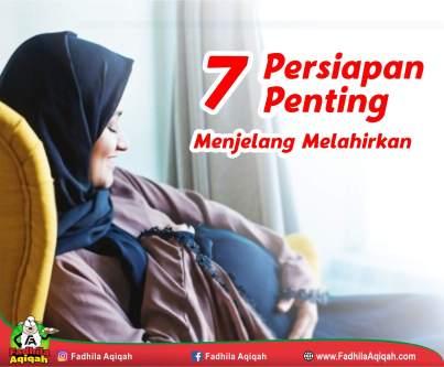 7 Persiapan Penting Menjelang Melahirkan