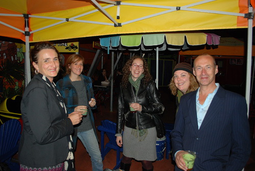 Sabine, Danya, Jenny, Barbara & Koen - © Frank H. Jump