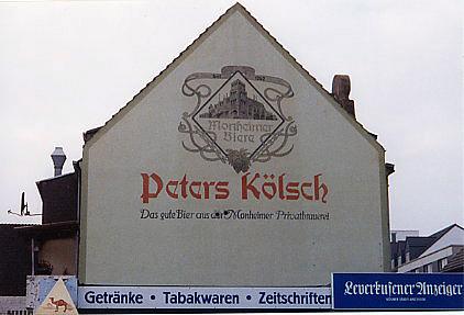 Kolsch Beer - Leverkusen, Germany 1999