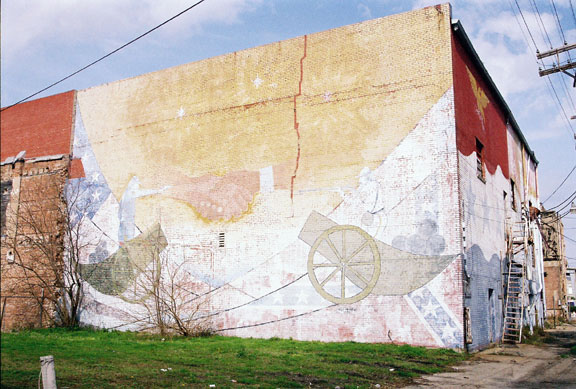 Civil War Mural
