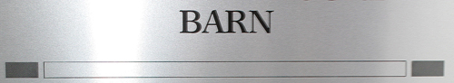 Barn Label