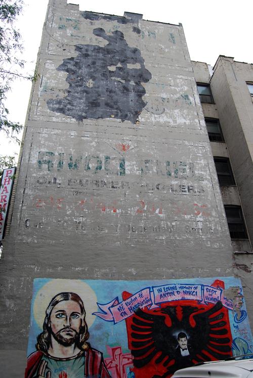 Rivoli Fuel Oil - Memorial Mural - Arthur Ave., Bronx - © Vincenzo Aiosa