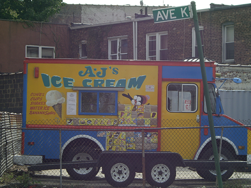 AJ's Ice Cream Truck, Avenue K - Brooklyn