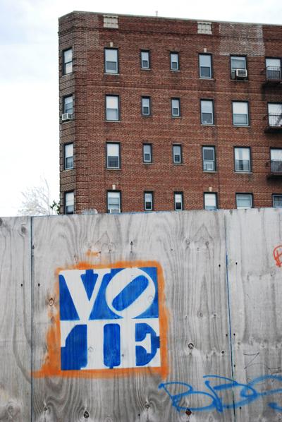 VOTE Campaign Covered @ Flatbush Pigeon