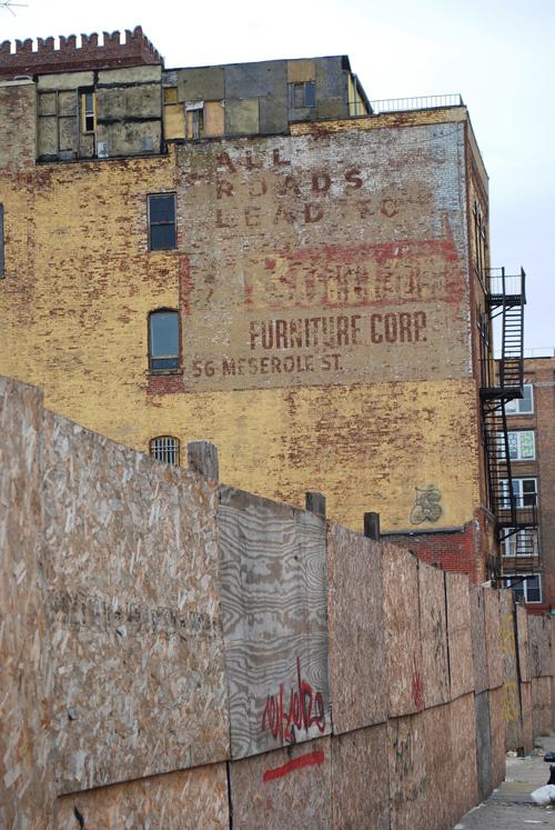 Meserole Street & Lorimer Street - © Frank H. Jump