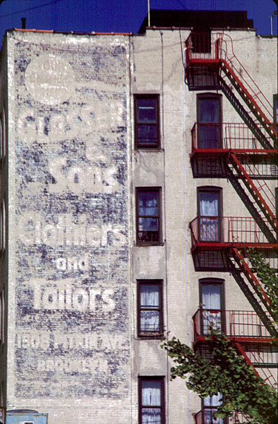 Glasser & Sons - Clothier & Tailor - Empire Blvd - Crown Heights, Brooklyn