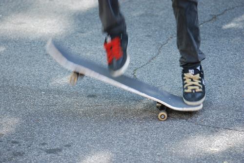 Flatbush Skateboarder