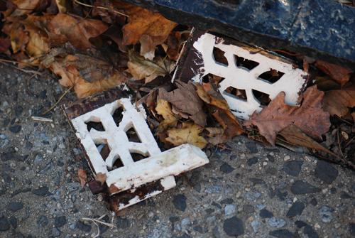 Construction Debris - Vintage Detail © Frank H. Jump