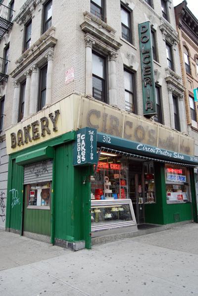 Circo's Pastry Shop - Bushwick, Brooklyn