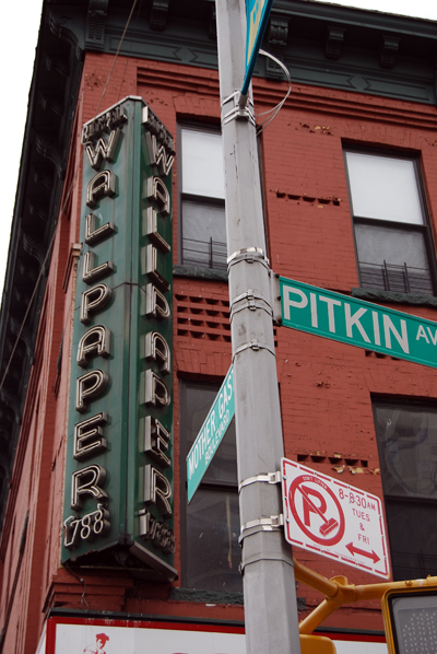 Wallpaper - Pitkin Avenue