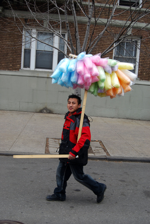 Cotton Candy Man © Frank H. Jump
