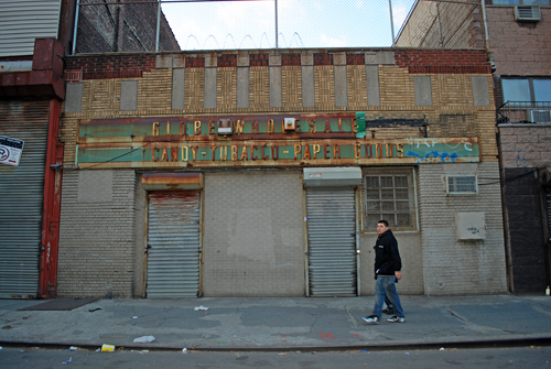 Globe Wholesale - Candy, Tobacco, Paper Goods - Third Avenue - ©Frank H. Jump