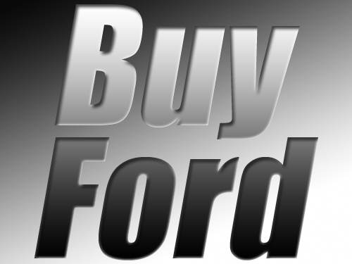 Buy Ford - © Frank H. Jump