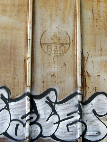 B & O Train Car Side - Ft Lauderdale, FL