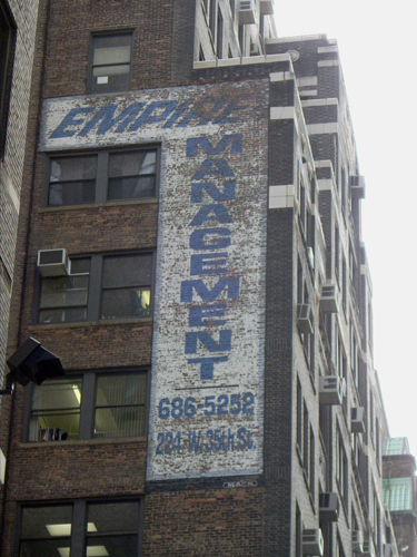 Empire Management- West 35th Street, NYC – Fading Ad Blog