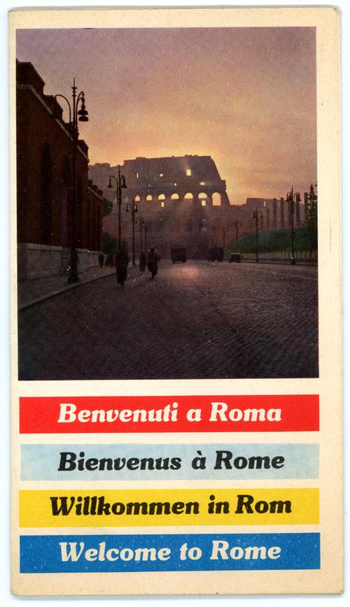 Benvenuti a Roma