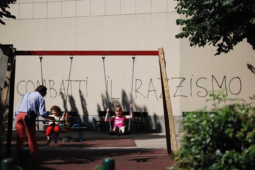 Combat Racism - Torino, Italy - © Frank H. Jump