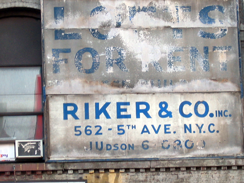 Riker & Co. - Lofts for Rent - Canal Street, NYC