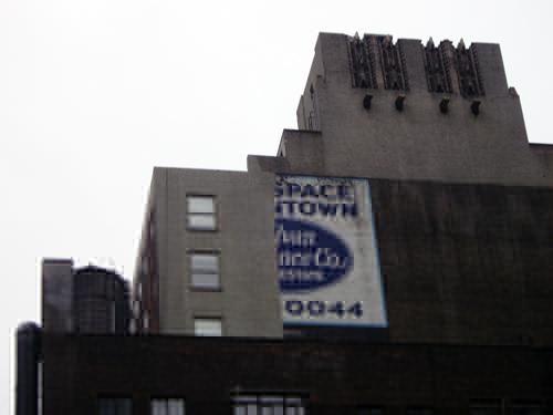 Sylvan Lawrence - Mack Sign