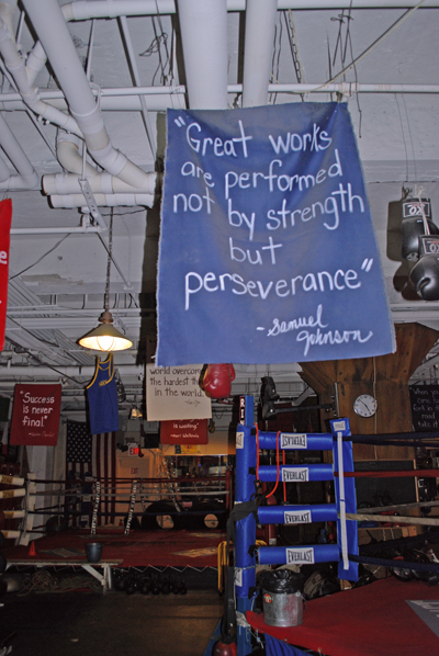 Samuel Johnson on Perseverance