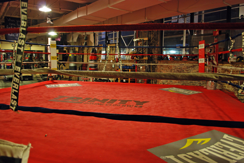 Ringside @ Trinity Boxing Club NYC - © Frank H. Jump