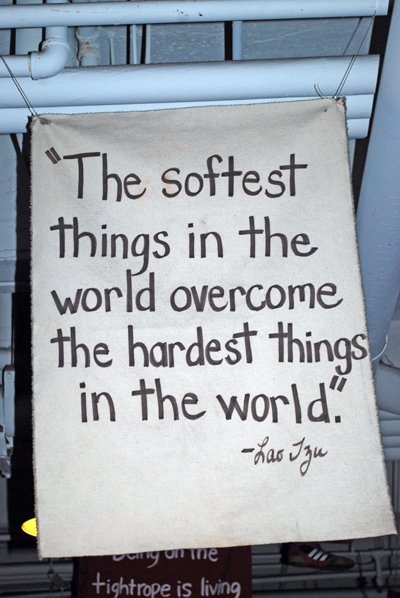 Lao Tze on Softest Things