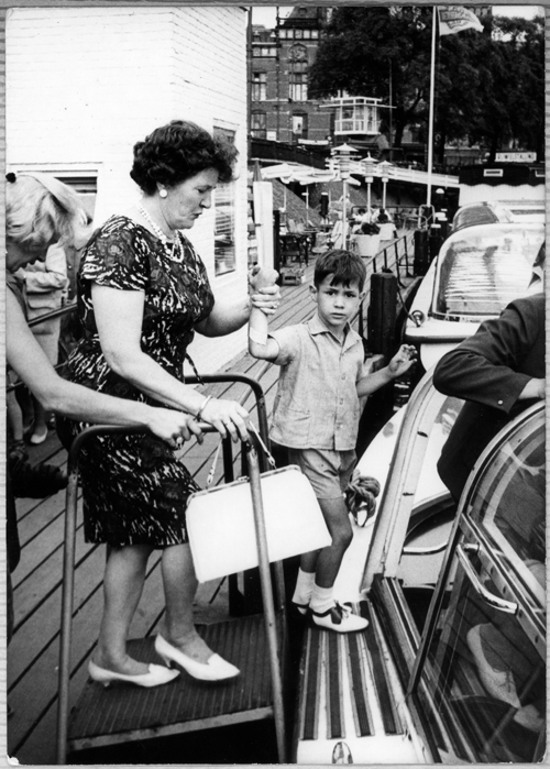 Rondvaart with Oma circa 1964